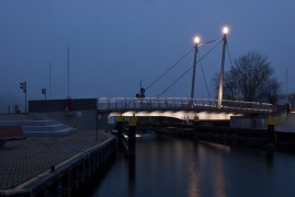 Drehbrücke Malchow (Mecklenburg)