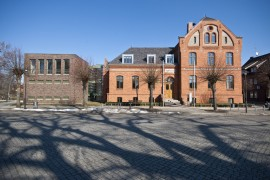 Rathaus der Stadt Lübz (Mecklenburg)